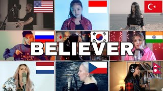 Who Sang It Better :Believer - Imagine Dragons (us,czech,indonesia,russia,turkey)