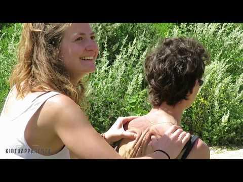 ASMR Back and Head massage in Jerusalem - *natural sounds*
