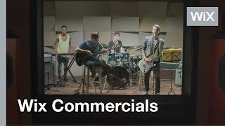 If Only Everything Was as Easy as Wix: Recording Studio (TV Commercial)