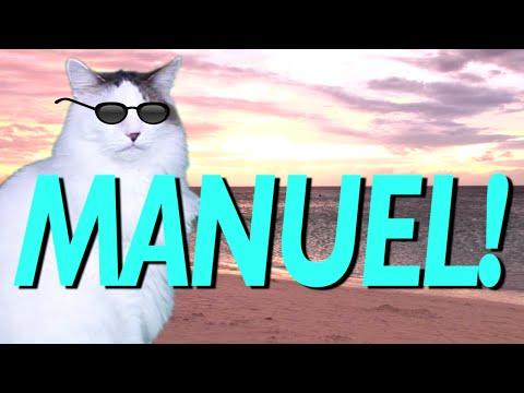 HAPPY BIRTHDAY MANUEL! - EPIC CAT Happy Birthday Song