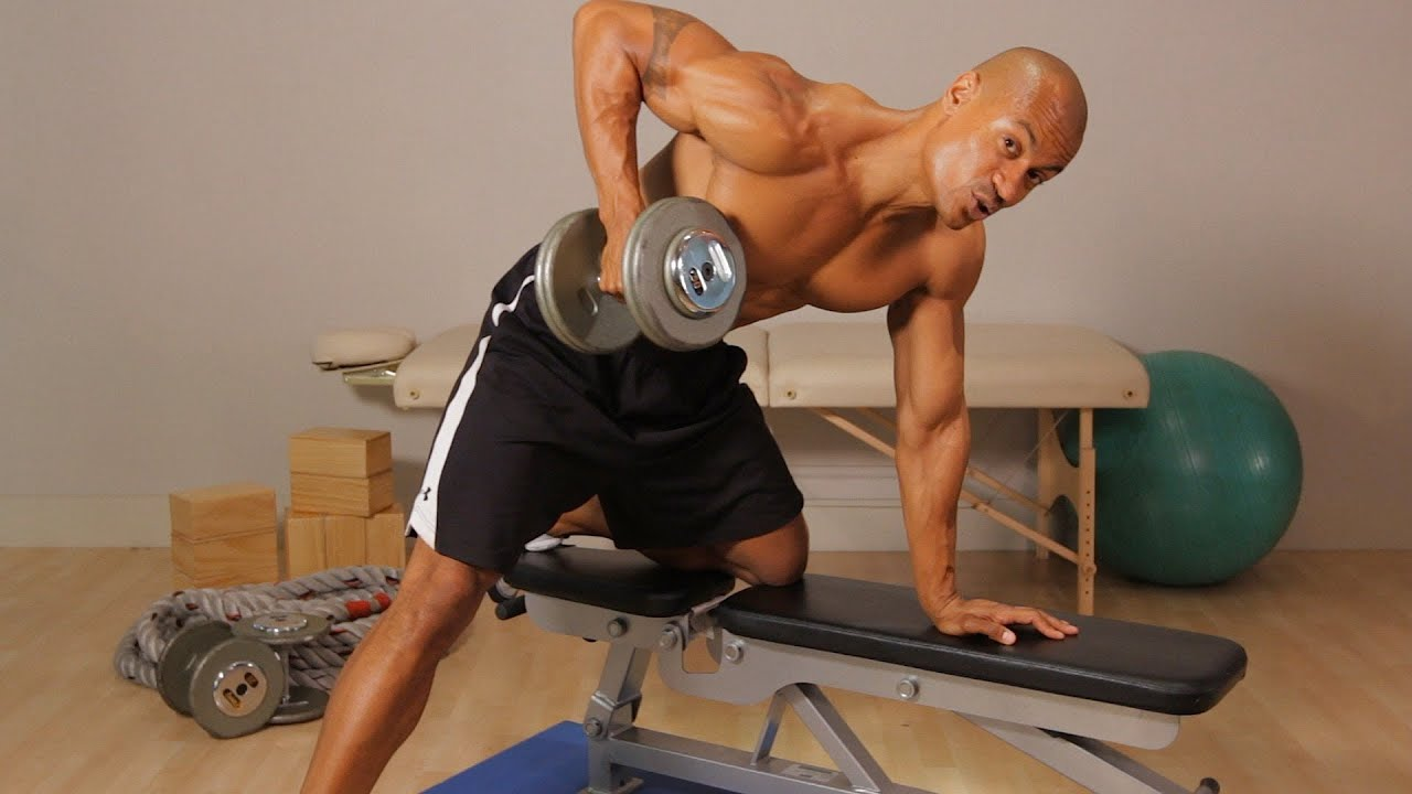 How To Do A Dumbbell Row