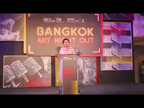 Dr Atchaka Sibunruang, TCEB - IT&CMA 2019, Bangkok Art Night Out - Unravel Travel TV