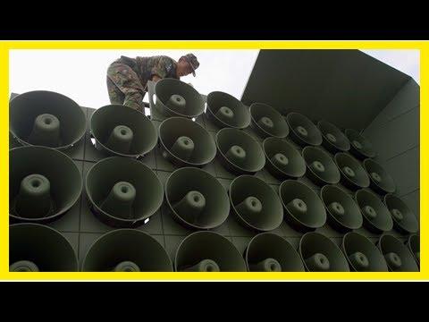 The Fox News - Korea North Korea taunts through troops of news broadcasting through loudspeakers, r