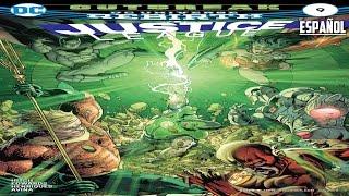 dc universe rebirth justice league 9 esp 2016 outbreak parte 2