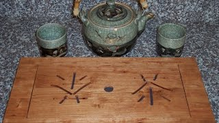 Make A Traditional Japanese Tea Tray With Our Plans.mp4