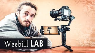Test Zhiyun Weebill LAB - Le GIMBAL pour VOYAGER