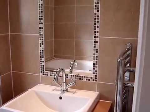 Mosaic Round Bathroom Window