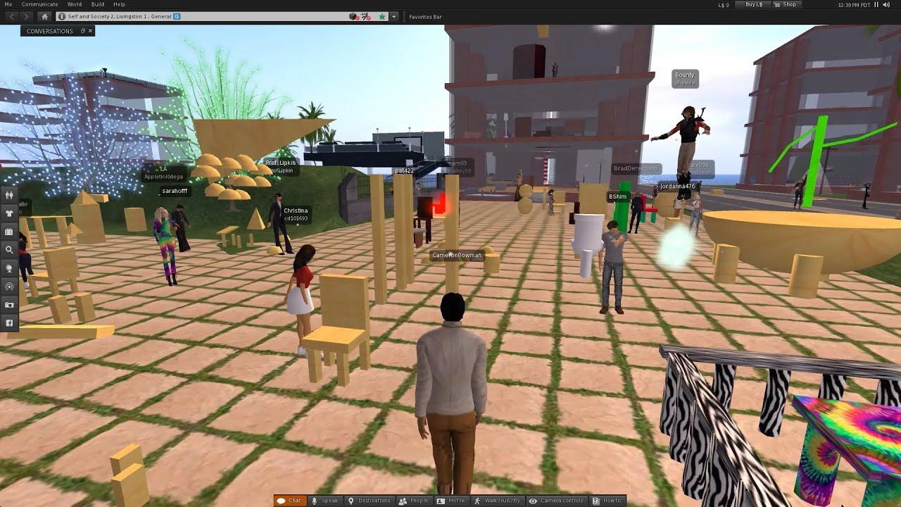 Second Life Provides Virtual Classroom at Rutgers