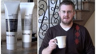 Anthony Cleanser & Moisturizer Review Thumbnail