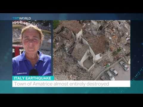 Italy Earthquake: Rescue operations enter a second day, Sabina Castelfranco reports