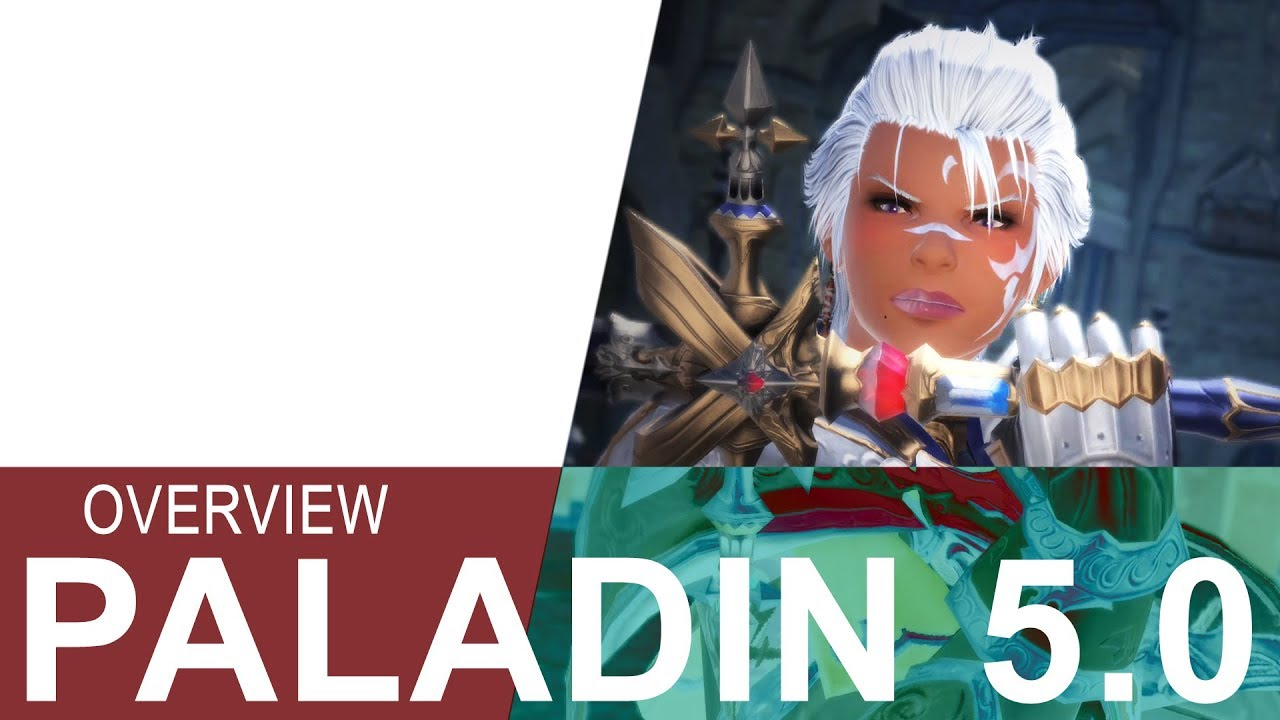 FFXIV 5.0 PALADIN OVERVIEW - Tanking Made Easy! - YouTube