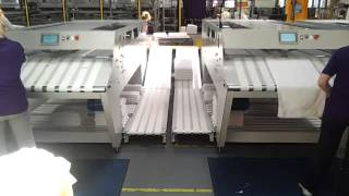 Foltex AT230 Towel Folder in Operation