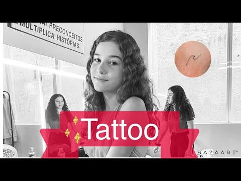 MINHA PRIMEIRA TATTOO // DUDA WENDLING