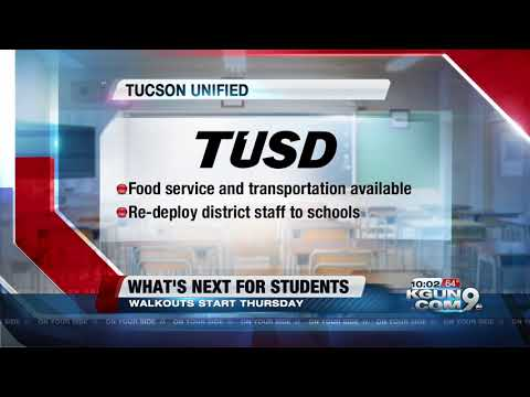 How Southern Arizona school districts are planning for the walkout