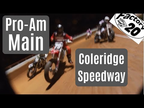 Watch SouthEastern Flat Track legend Robert Lewis, South Carolina AFT Single