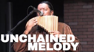 Unchained Melody Pan flute and guitar version Arranged by Inka Gold