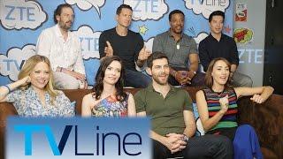Grimm Interview  | TVLine Studio Presented by ZTE | Comic-Con 2016