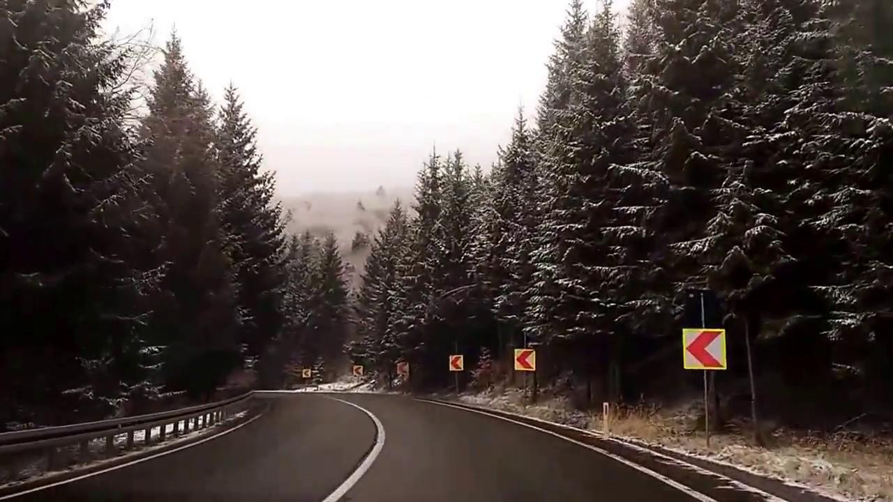 Румыния, горы, дорога на Брашов