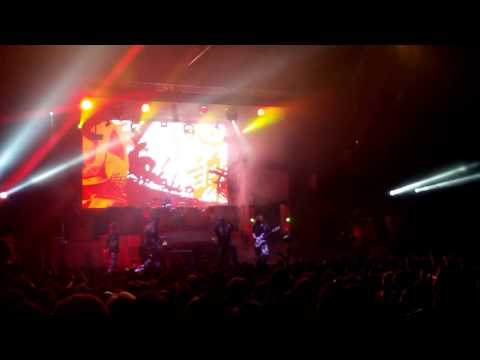 Sabaton live at Pireaus 117 Academy Athens 08/03/2017 Encore