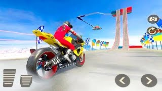 Extreme Bike Stunts Game 2019 #Dirt Motorcycle Stunt Game #Bike Games 3D for Android