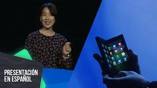 Samsung Infinity Flex Display es oficial | Presentación en español