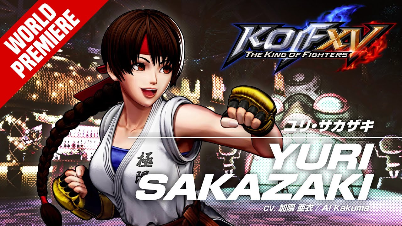 KOF XV|YURI SAKAZAKI|Character Trailer #9 (4K)