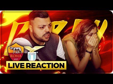 Live reaction derby roma - lazio 2-1 !!! live🔴
