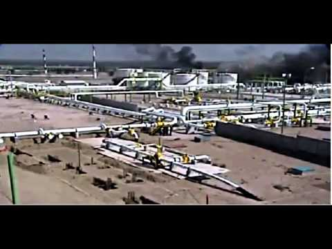 Gas Field Explosion