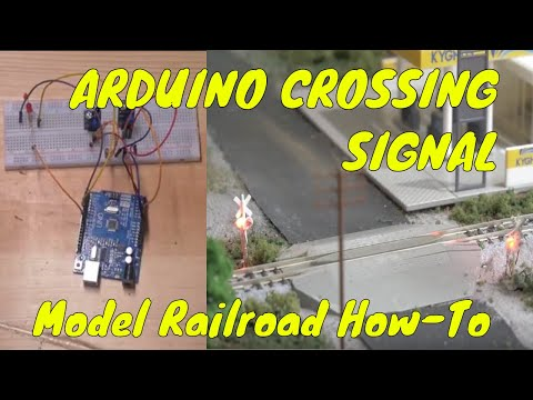 Arduino Crossing Signal for Model Trains