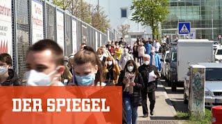Impfzentrum Hamburg: Deutschlands größte legale Massenveranstaltung