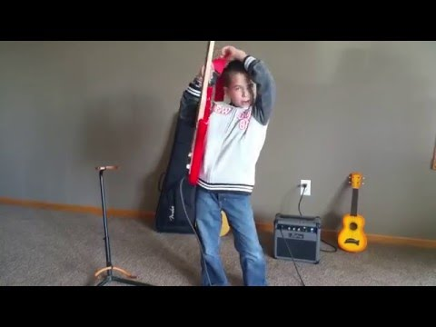 Electric Guitar For Kids: How to Set Up the Guitar