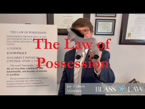 The Law of Possession
