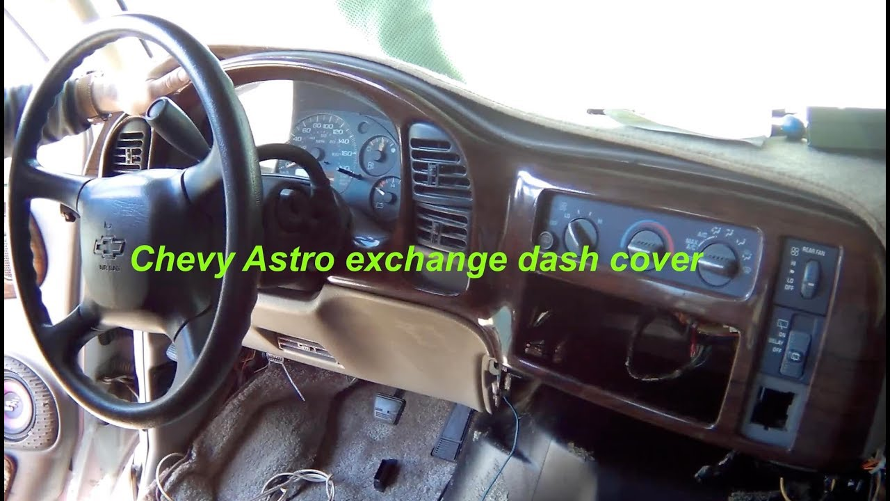 Chevy Astro Dash Cover