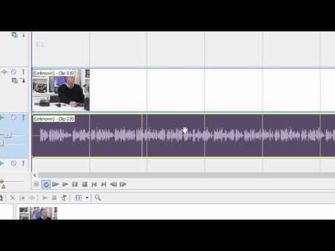 Solve mono audio or missing audio channel in Sony Vegas Movie Studio