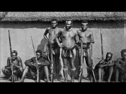 Southern African Traditional Music  Tribal War Chant