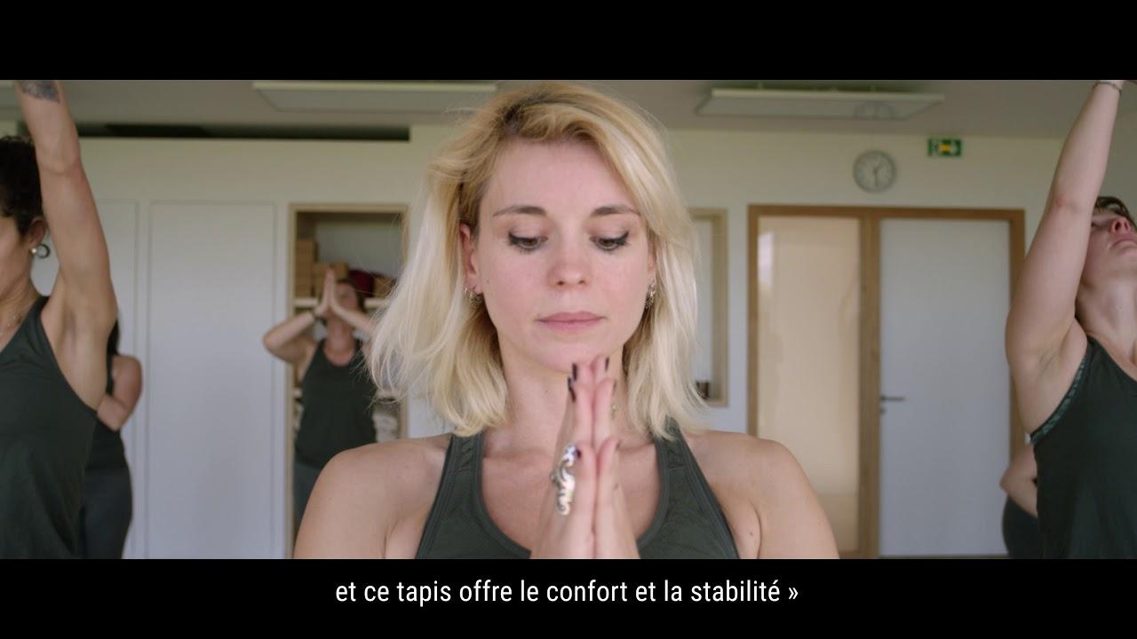 tapis jute 4 mm yoga by decathlon