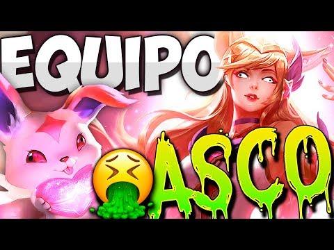 EL EQUIPO DEL ASCO En URF - League Of Legends