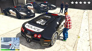 ich KLAUE 999.999.999$ POLIZEI AUTO in GTA 5 RP!