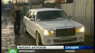 Лимузин из холодильника (Виталий Адаричев)(Мужик собирает лимузины из холодильников-уникальное видео (Виталий Адаричев), 2010-05-30T15:17:29.000Z)