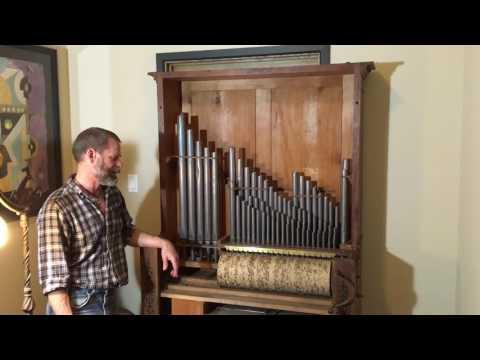 "English Chamber Barrel Organ plays ""Le Rousseau"" Quadrille"