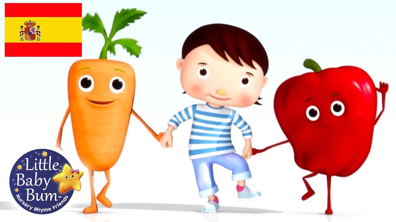 Canciones Infantiles Come Tus Verduras Dibujos Animados Little Baby Bum