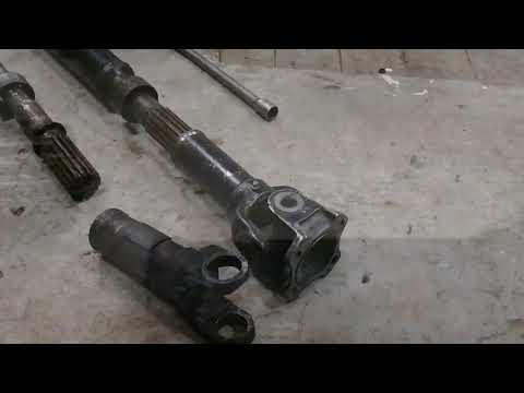 Передний кардан на УАЗ из заднего
