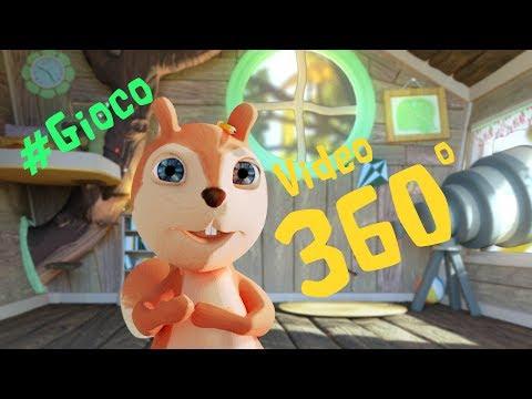 Giochi di Alice nel Bosco: Trova i disegni - Video a 360° Giochi per bambini #360