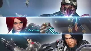 Marvel vs. Capcom: Infinite - Soldado Invierno Viuda Negra y Veneno.