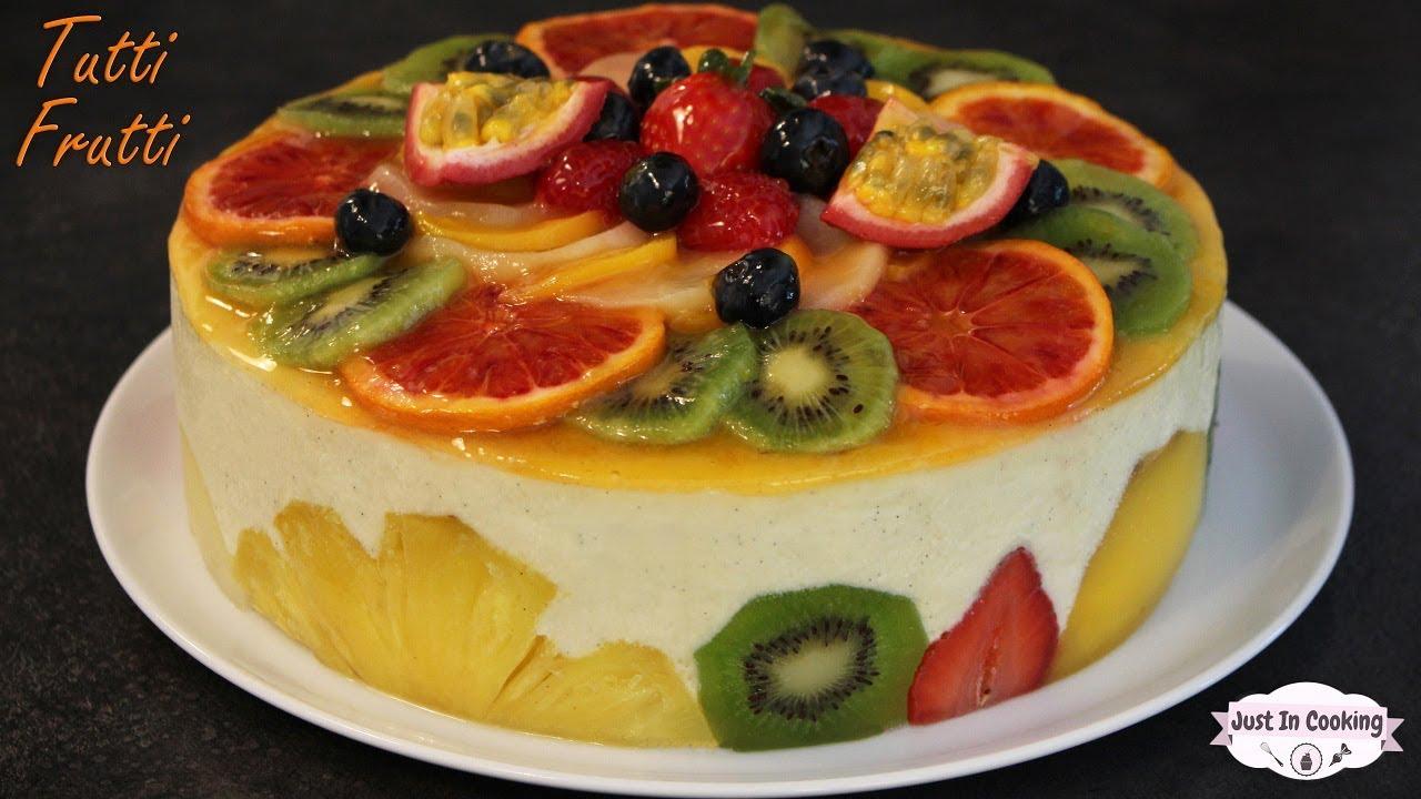 Recette De Gâteau Aux Fruits Le Tutti Frutti Youtube
