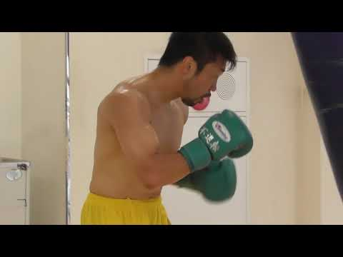 八重樫東 サンドバッグ打ち2 AKIRA YAEGASHI, Heavy Bag Workout 2, Jul 11th, 2018