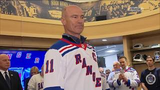 Mark Messier and Mike Keenan Address the Current Rangers | New York Rangers Post Game