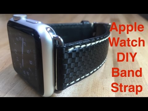 Apple Watch Sport DIY Band Strap
