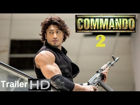 COMMANDO 2 Movie | official Trailer [HD] | Vidyut Jamwal, Esha Gupta | January 2017