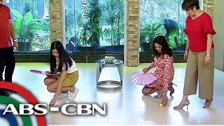 Egg Roll Challenge - Kisses vs Ariella | UKG